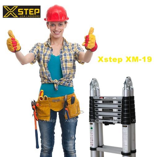 Lộ diện dòng thang nhôm rút đôi XM-19 mới nhất của XSTEP