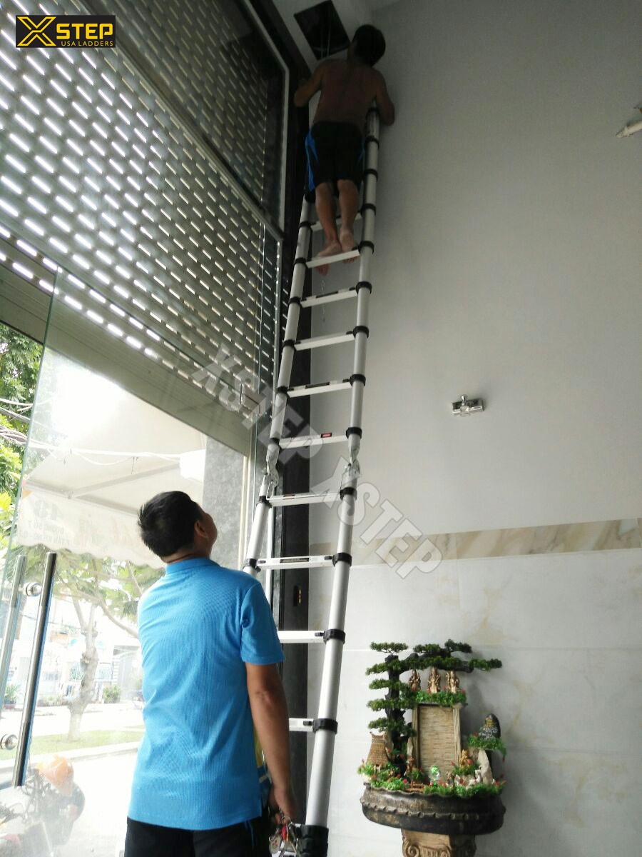 Cách chọn mua thang nhôm rút tốt cho gia đình ?