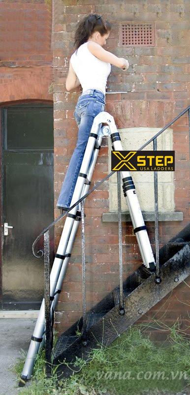 Thang nhôm rút Xstep: Dòng sản phẩm thang rút dẫn đầu