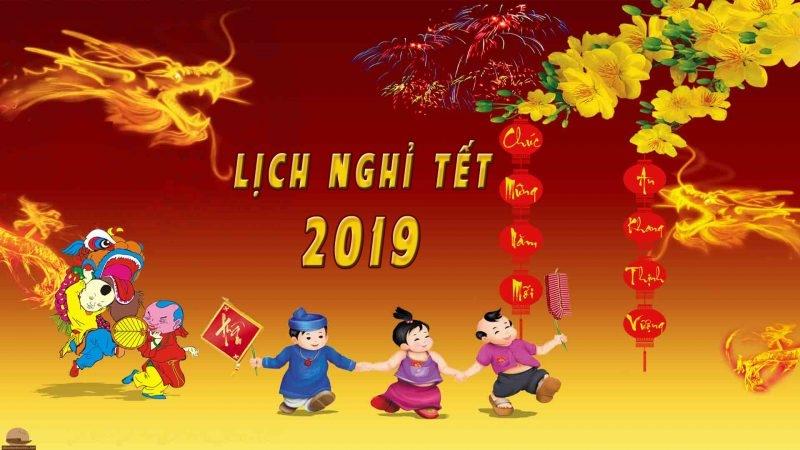 Vạn Nam thông báo lịch nghỉ Tết 2019